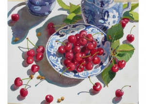 Staffordshire and Cherries