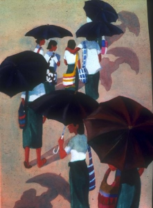 The Parade of School Girls