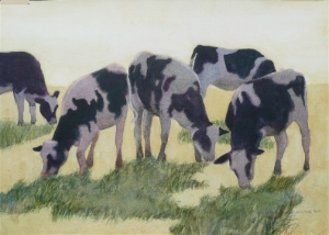 Washington County Cows in Spring